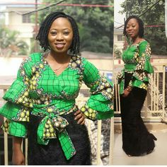 Yes, we are back with more Ankara fashion looks that will make you go Wow! These pretty ladies know how to bring the best out of this lovely print and…