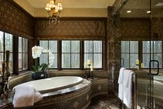 Another dream bathroom. I'd never leave