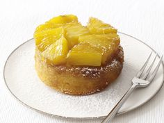 Mini Upside-Down Cakes recipe from Food Network Kitchen via Food Network