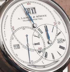 "A. Lange &Söhne Richard Lange Perpetual Calendar ""Terraluna"" Watch…"