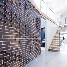 Dry Pressed Brick Collection Mowbray Blue Internal Feature Wall