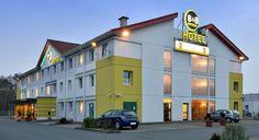 Außenansicht des B&B Hotels #Hannover