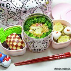 Karenwee's Bento Diary: Bento2015#Mar26~Hello Kitty Mashed Potato