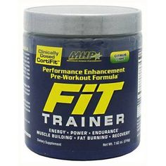 MHP Fit Trainer, Citrus Lime, 40 CT