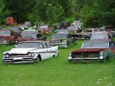 Image result for old rusty trucks and cars
