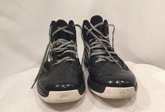 Adidas Shoes Mens Size 8 Adizero Sprint Web Men's Sneakers Black  #Adidas #Sneakers