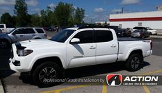 BAK Industries FiberMax tonneau cover installed on this beautiful Toyota Tacoma