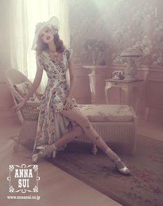 Anna Sui S/S 2012 : Frida Gustavsson by Sofia Sanchez & Mauro Mongiello