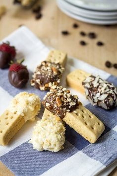 """I love this super easy 15-minute recipe which turns shortbread cookies into """"biscotti""""! Great gift idea."""