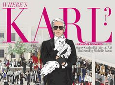 Karl Lagerfeld (and his unmistakable trademark look) is the protagonist in this new fashion parody.