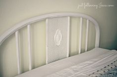Just following Jesus in my real life...: Old iron bed...