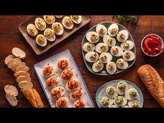 Idei de oua umplute - YouTube Sushi, French Toast, Bacon, Breakfast, Ethnic Recipes, Food, Facebook, Youtube, Essen