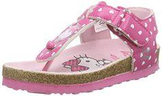 nice Hello KittyVENZO - Sandalias de Punta Descubierta Niñas , color Rosa, talla 29