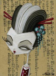 Rockabilly Geisha | Flickr – Compartilhamento de fotos! on we heart it / visual bookmark #27179855