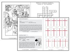 Catholic  Bible Stories for Children FREE Unit Study- Chapter 3- The First Family- Cain and Abel. Coloring page of their sacrifice on the altar, 2 lamb themed snacks, word search and more! Great for homeschool, Jesse Tree Study and extra catechism lessons!