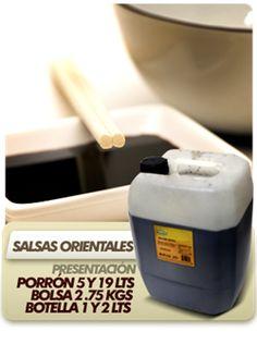 Salsas Orientales. - Salsa Soya.