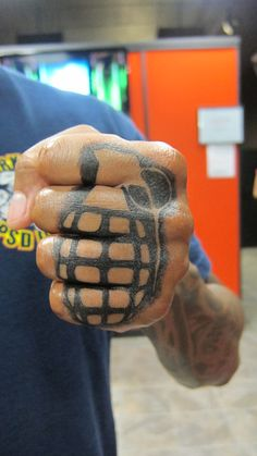 Fuck Yeah, Knuckle Tattoos: Photo