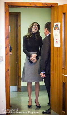 From Berkshire to Buckingham : Kate Visits Scotland & Plays Some Tennis