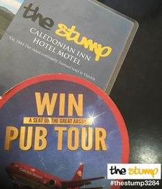 On March 6th Carlton Air will embark on the biggest pub tour in Australian history. #cub will be flying over 100 lucky people in a private jet to 5 pubs in 5 major cities for 7 days of incredible pub experiences including music food comedy and much more. For your chance to score a seat simply visit the stump in #destinationportfairy and enjoy 2 brewery fresh Carlton Draughts or Carlton Mids with a mate and you'll receive a boarding pass AKA scratchie with your chance to win! #thestump3284…