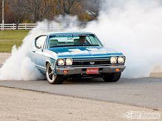 Chevelle burnout