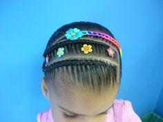 peinados para niña - Buscar con Google Girls Hairdos, Lil Girl Hairstyles, Girls Natural Hairstyles, American Hairstyles, Afro Hairstyles, Headband Hairstyles, Pretty Hairstyles, Natural Hair Styles, Cabello Hair