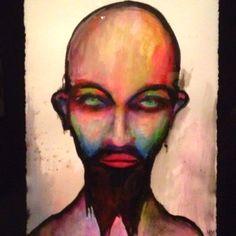 Art by Marilyn Manson, expo @ Antiguo Colegio de San Ildefonso, Mexico City