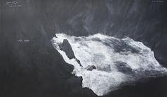 Tacita Dean, Fatigues, 2012 chalk on blackboard Contemporary Art Daily, Modern Art, Documenta Kassel, Cute Kawaii Drawings, Chiaroscuro, Island Life, Light Art, Figurative Art, Female Art