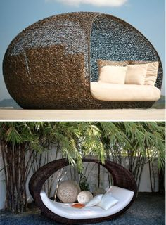 Sampan and Iraya daybeds from locsin collection for neoteric home