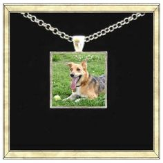 Custom pendant bezel glass tile Personalized by IttyBaubles, $12.95