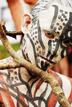 mudpack festival in Mambuka, Philippines