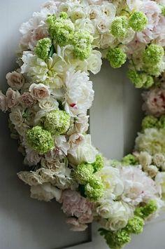 Peonies, Lilac, Majolica Roses, and Viburnum