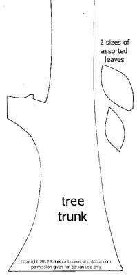 tree trunk template google search boxtops ideas pinterest