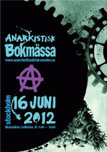 Anarchist bookfair June 16, 2012!