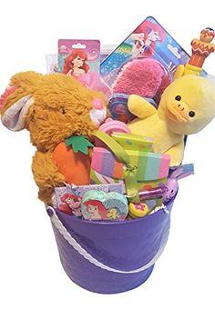 Easter gift basket chick private label httpamazondp disney little mermaid themed easter basket private label httpsamazon negle Gallery