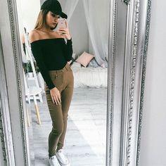 Bazaleas European Girl T shirt Sexy Slash Neck Women Tops Long sleeve Crop top Fashion T-shirt top Casual Cropped Crop Top Styles, European Girls, European Fashion, European Style, Sexy Shirts, T Shirts For Women, Clothes For Women, Dope Clothes, Dope Outfits