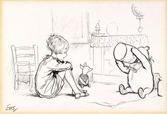 classic pooh drawing - Google Search