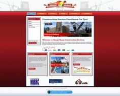 Shoop Sharp Construction Services takes the stress and strain out your hectic schedule and provides you with be best goods and services. They're services range from building and carpentry to painting and tiling. They approached Vertex Central to create an online platform for them to hold all important info and give clients the opportunity to interact with them. #CMS #Joomla #construction #red #webdesign