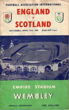 England v Scotland - Home International Championship 1959