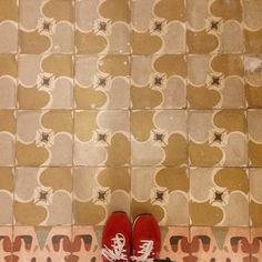 More vintage #tiles from Casa Usher in Barcelona! #TileAddiction