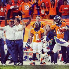 SnapWidget | CAPTION CONTEST: Submit your captions for anyone in this photo using #BroncosCaption