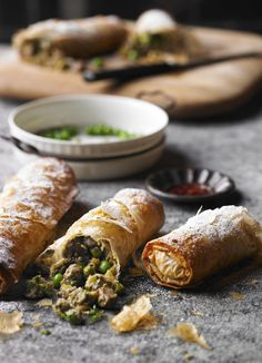 Pigeon and pea pastilla