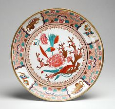 Plate, Spode, circa 1800, LACMA Collections Online