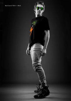 #MadeInMelbourne #LimitedEdition #Rock #Carrot #T-shirt