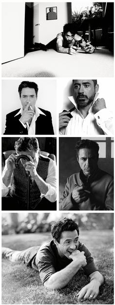 Robert Downey Jr. Oh my gawd so much perfection!!! ❤️✋