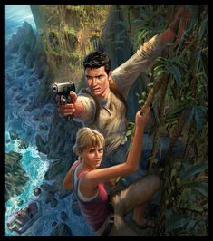 Uncharted: Drake's Fortune, Concept Art.