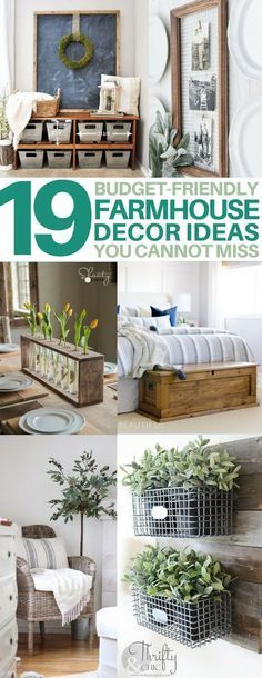 You MUST see these cheap & easy diy farmhouse decor projects! // She Tried What