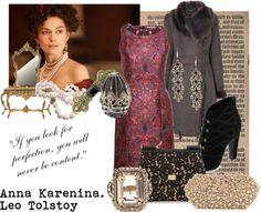 Anna Karenina Bookshelf Styling, Anna Karenina, Hollywood Life, You Look, Novels, Scene, Band, Classic, Polyvore