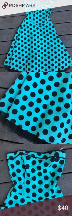 Ruby Rox pinup vintage style polka dot dress Super cute style dress! Definitely pin up retro style. Great condition Ruby Rox Dresses