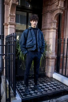They Are Wearing: London Collections: Men's Fall 2016 [PHOTOS]