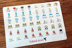 99 School Events & Dates Planner Stickers by tallulahgracecrafts
